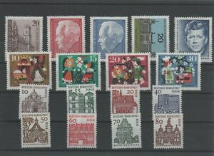 Germany-Berlin-vintage-yearset-Yearset-1964-Mint-MNH-complete-More-Sh-Shop