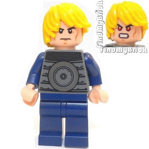 BM079 Lego Custom X-men Custom Havok Minifigure with Dual Sided Faces NEW