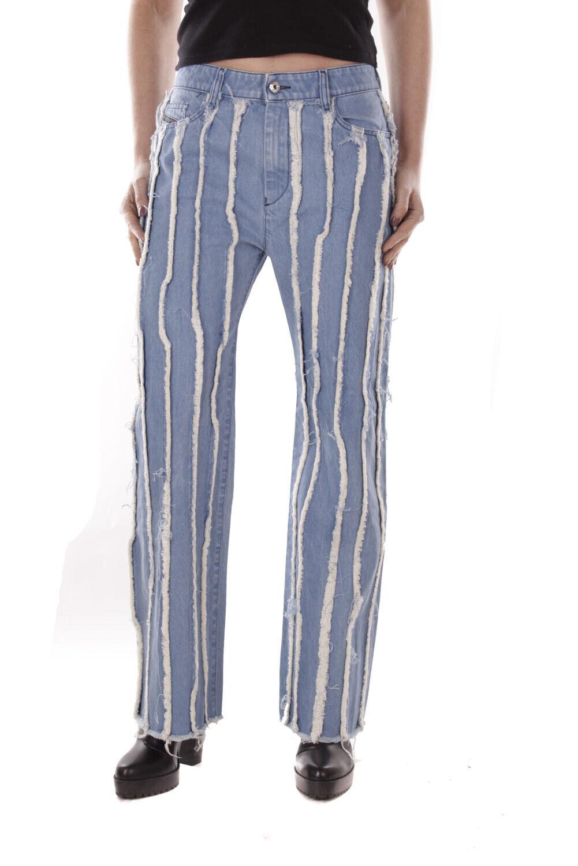 Diesel gold black Type-170 Jeans Pantaloni women Dritto