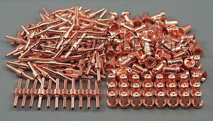 200pcs Electrodes+Tips PT-31 Extended Plasma Cutting 608560668588