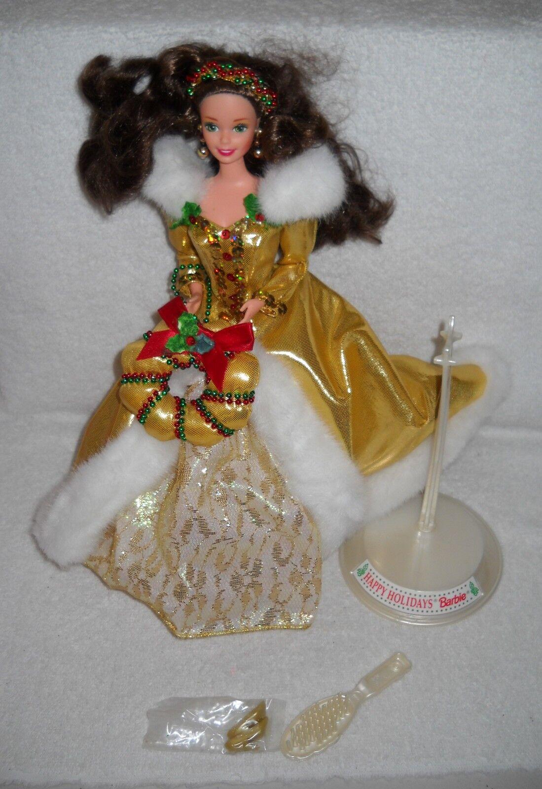 Nuevo raros Mattel Barbie mostrados Festival 1994 Vacaciones Barbie Morena