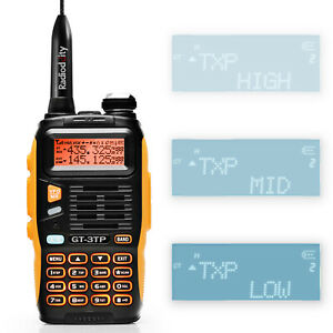 Baofeng-GT-3TP-MarkIII-1-4-8W-2m-70cm-Band-VHF-UHF-Ham-Two-way-Radio-Transceiver