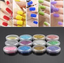 DIY  Nail Art Acrylic UV Gel Glitter Powder Beads Decoration Tips Kit Tool
