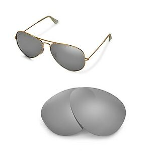 07be4890401 New WL Polarized Titanium Lenses For Ray-Ban Aviator Large Metal ...
