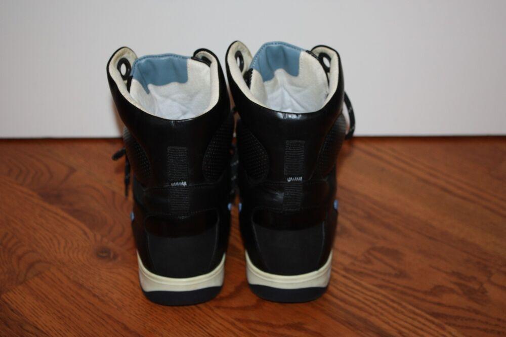 Femme Limited Edition PUMA Alexander McQueen 8 noir Leather High-Top Sneakers 8 McQueen fab204