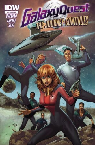 Vault 35 GALAXY QUEST JOURNEY CONTINUES #3 Subscription Variant IDW Comic NM