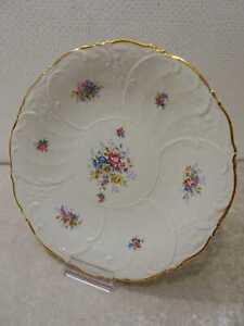 Krautheim-Design-Porcellana-Piatto-Decorativo-Vintage-Fiori-Fiori