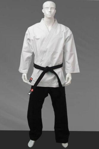 KANKU Karate Gi Uniform pants or Top (Jacket) 12oz Black or White Heavy Weight