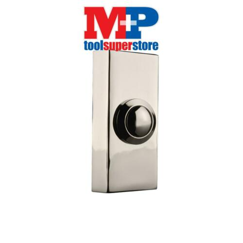 Byron 2204BC 2204BC Wired Doorbell Additional Chime Bell Push Chrome