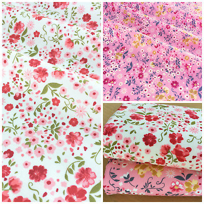 Mustard Flowers 100/% Cotton Fabric fat quarter sold per half metre