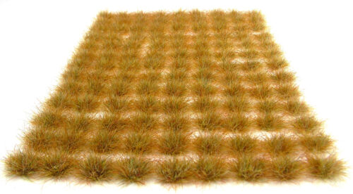 6-10mm morts végétation Tufts x117 adhésif PAYSAGE herbe statique wargames