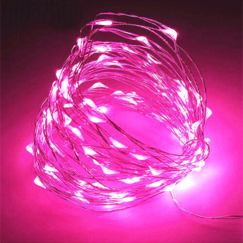20//30//100 LED String Battery Operated Copper String Wire Fairy Lights Xmas Party
