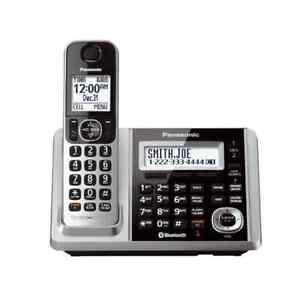 Panasonic-KX-TGF370S-Link2Cell-Bluetooth-Cordless-Phones-w-Answering-Machine