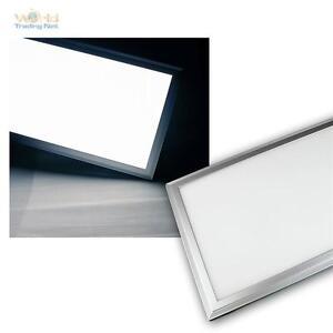 led panel 30x120cm tageslicht 3100lm 230v pannel b ro deckenleuchte lichtpanel ebay. Black Bedroom Furniture Sets. Home Design Ideas