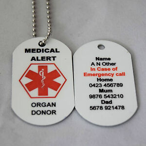 Personalised-Medical-Alert-Necklace-Organ-Donor