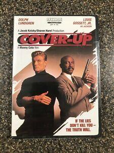 Cover-Up-Dolph-Lundgren-Louis-Gossett-Jr-Action-Crime-Thriller-Brand-new