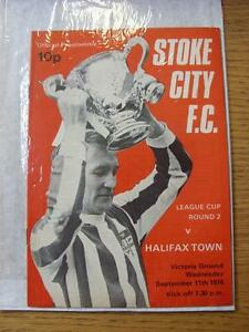 11091974 Stoke City v Halifax Town Football League Cup Faint Crease - Birmingham, United Kingdom - Returns accepted within 30 days after the item is delivered, if goods not as described. Buyer assumes responibilty for return proof of postage and costs. Most purchases from business sellers are protected by the Consumer Contr - Birmingham, United Kingdom