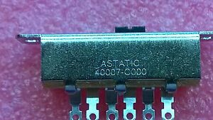 NEW ASTATIC,TURNER ROADKING 56 MICROPHONE SWITCH REPLACEMENT FREE SHIPPING