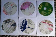 6 CDG KARAOKE DISCS BEST OF GIRL POP & COUNTRY-LADY GAGA,ADELE,CARRIE UNDERWOOD
