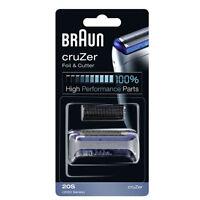 Braun Foil Cutter Block 20S Shaver Blade CruZer 1 2 3 Face 4 5 2000 Series Z20