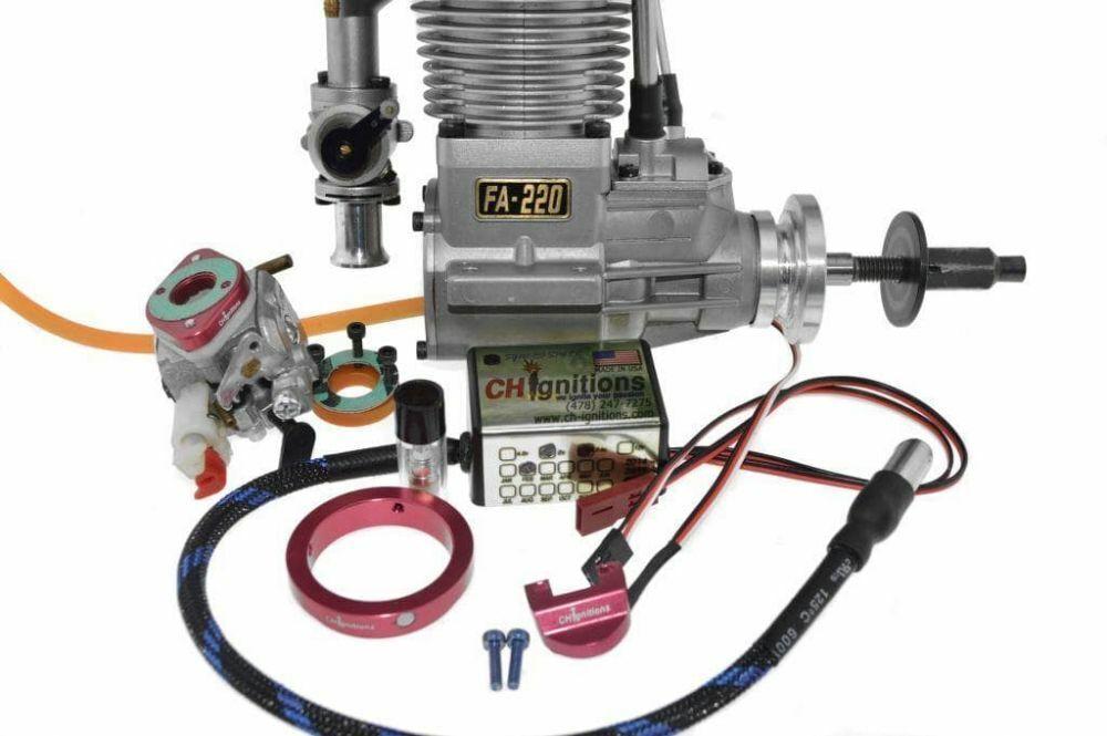 Saito FA 220, Full Gasoline CH Ignitions CDI Conversion
