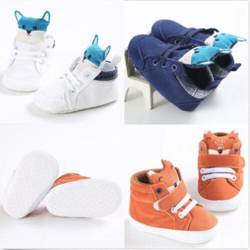 Mignon Bébé Fille Garçon Drôle TOD hight Coupe Chaussures De Sport Anti-Dérapant Semelle Souple Chaussures