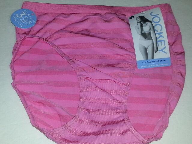 7f074ddfb073 JOCKEY 1306 Matte and Shine Hi-Cut Panty size 5 NWT | eBay