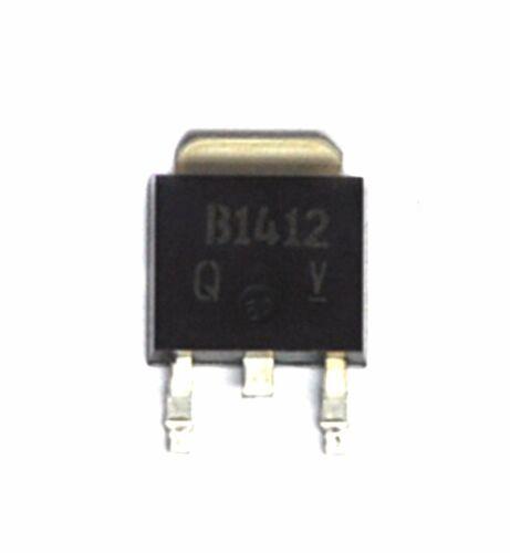 10pc SMD PNP High Current Power Transistors 2SB1412 B1412 SC-63-20V 5A 1W ROHM