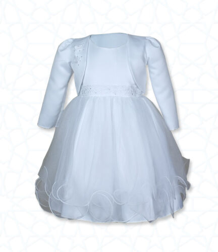 Christening Clothing, Shoes & Accessories Lower Price with White Girl Christening Dress 12-18 Months
