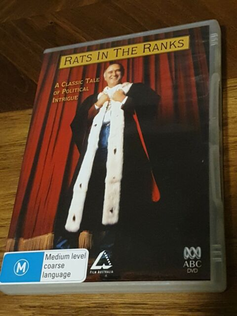Rats In The Ranks - DVD R4 PAL Rare Political Drama Doccumentory