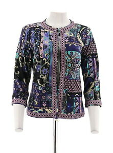A235133 Joan Marokkansk 3 Lilla 638455328891 Slv Rivers Flair Multi Jacket Ny 4 Åben Xs Trim qpUT1qH