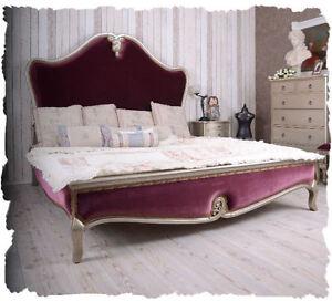 Letto camera da letto 180x200cm letto matrimoniale stile Barocco ...
