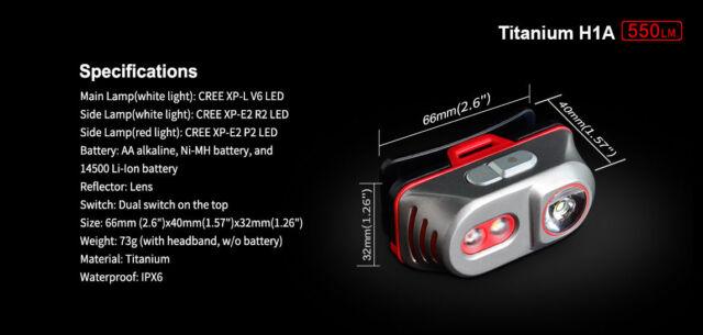 NEUF environ 580.64 m Browning Blackout Tactical Lampe de poche DEL 9 V Noir efficace à 635 Yd