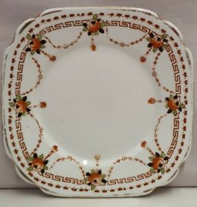 Vintage-Royal-Albert-Crown-China-Imari-Style-Side-Plate-Bone-China-c1925-27