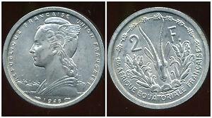 Afrique Equatoriale Francaise 2 Francs 1948 ( Sup ) Performance Fiable