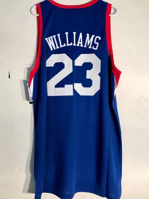 on sale 43491 305a1 adidas Swingman NBA Jersey Philadelphia 76ers Louis Williams Blue Sz 2x