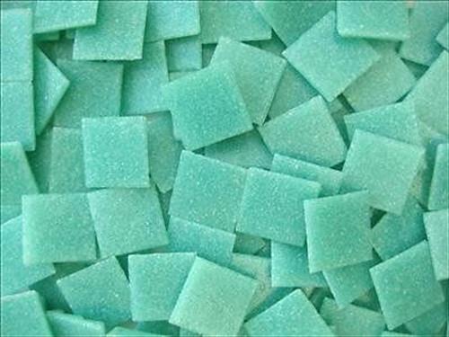 75 Pack Caribbean blue 20mm Vitreous Mosaic Tiles Tesserae