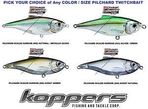 koppers live target sardine pilchard twitchbait saltwater lure sst
