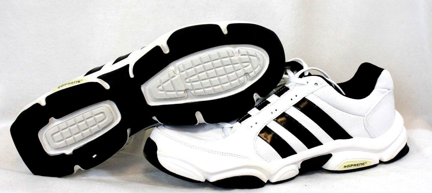 NEW Mens ADIDAS Pure Trainer FW2007  672547 White Black Training Sneakers shoes