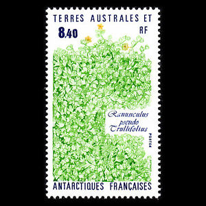 TAAF-1990-Plants-of-the-Antarctic-Flora-Sc-157-MNH