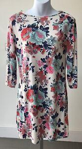 Atmosphere-Dress-Size-14-Floral-Polyester-Elastin