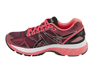 the latest 8690d e08a1 Details about ASICS Women's Gel-Nimbus 19 Running Shoe BLUE/FLASH CORAL &  BLACK/SILVER/PINK