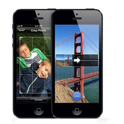 "APPLE IPHONE 5 Unlocked 1gb 64gb Dual Core 4.0"" 8mp Camera Ios 11 Lte Smartphone"