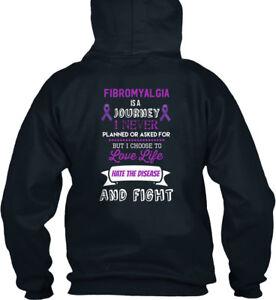Journeyi ce Est Hoodie Never Standard Comfy College un Awareness Fibromyalgia cXCOfxxWqU