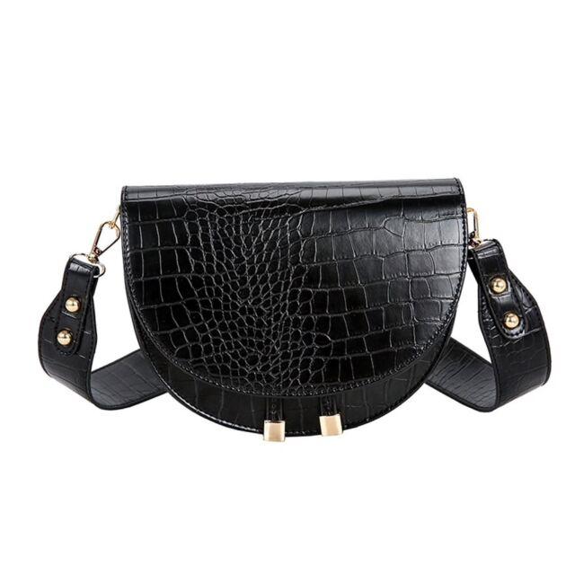 Luxury Faux Crocodile Wallcoverings: Luxury Faux Crocodile Skin Pattern Leather Shoulder Hand