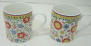 Lot-2-Queens-by-Churchill-CARAVAN-TRAIL-Port-Issac-amp-Coverack-Porcelain-Mugs