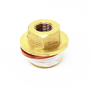 "Torque Solution Oil Galley Plug 1//8/"" NPT Adaptor for Subaru EJ20//EJ25"