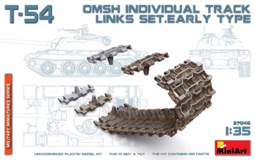 #37046 MiniArt 1//35 T-54 OMSH individuel Kettenglieder Set früher Typ