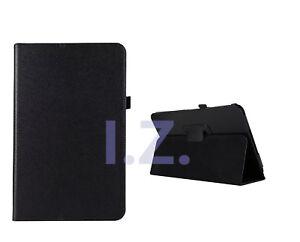 """Nero PU Slim Folio Case Cover per Samsung Galaxy Tab S4 10.5"""" SM-T830/T835"""