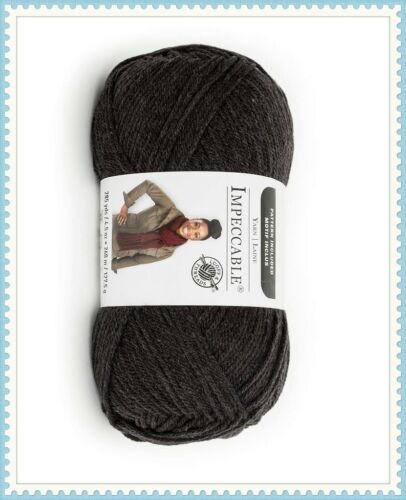 Loops /& Threads Impeccable Yarn Dark Charcoal